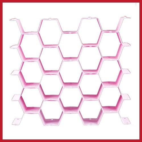 Assurance discoutine Honeycomb gaveta ripa Partition Closet Divisor de armazenamento Organizer Gabinete atacado seguro(China (Mainland))