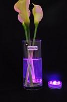 Changing color remote control LED light ,submesible led light base ,wedding party's partner.