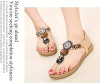 Sandals,Women sandals,Genuine leather Sandals Australia ilo bill bohemia flat sandals tropical gem beaded brand slipper