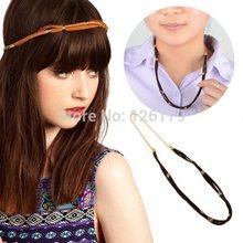 wholesale gold braided headband