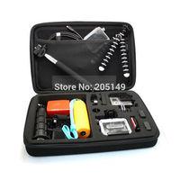 Go Pro Case 4.0 Gopro Bag Large For Go Pro 3+ Hero 3 Hero 1 Hero 2 SJ4000 Camera Accessories Gopro bags Black
