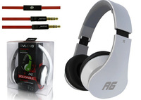 New 2014 OVLENG 1pcs A6 dynamic stereo headphones with MIC for iphone/ipod/mp3/blackberry/skype High Quality