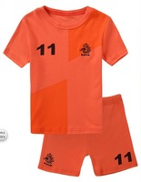 baby underwear clothing Boys World Cup soccer uniform pajamas children sleepwear clothing set kids clear suits 6set/lot #01