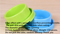 Free shipping pet utensils high quality pet bowl dual-purpose feeding basin dog and cat fed water bowl  pet supplies