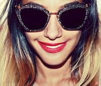 2014 New Fashion vintage women Sunglasses Aviator Sunglasses Vintage Eyeglasses glasses Women brand designer Sunglasses