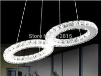 Free Shipping Modern LED Diamond Crystal Ceiling Light Fitting Crystal Lamp for Living Room Pendant Lighting L600*W300mm
