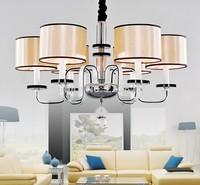 Free Shipping Modern Pendant Lamp lights for home bedroom Crystal Chandelier JP6312/6L D750MM H520MM