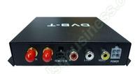 Free Shipping External Automobile Digital TV TUNERS DVB-T TV receiver MPEG4 TV box