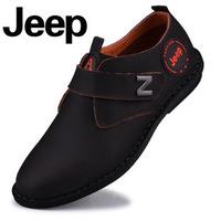 2014 models a generation of fat JEE P genuine leather men's casual shoes men's soft casual men shoes