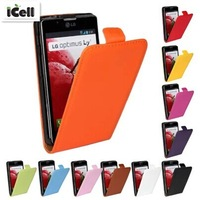 Genuine Leather Case For LG Optimus L7II , Flip Real Leather Cover For LG L7 II 2 P715 P713 P710 ,MOQ:1PCS free shipping