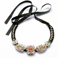 2014 New fashion items trendy marni gift collar choker chunky brand Necklace statement jewelry necklaces & pendants women
