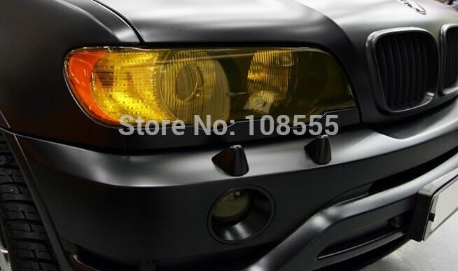 100*30cm Car headlights Fog lamps Tail lights Film Sheet light covers #0607-Yellow(China (Mainland))