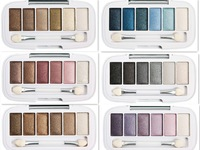 3pcs/lot New Professional Makeup Palette 6 Colors Eyeshadow Natural Long-lasting Easy to Wear Eye shadow Set Free Shipping