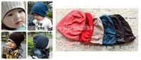 freeshipping!10pcs/lot thread Kids hats Cotton Beanie Infant cap children baby hat
