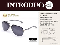 FreeShipping+ A143 The new fashion  Sunglasses wholesale Men with Aluminum and magnesium  polarized&Classic  driving glasses