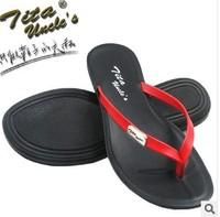 Hot Sale Summer Brand woMen Casual Flat Sandals Leisure Flip Flops,pu Beach Slipper Shoes For woMen Big Size 37-42