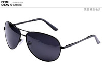 FreeShipping+A103 Sunglasses wholesale Men with metal classic  sunglasses polarized sunglasses Frog mirror driving glasses