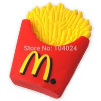 Free shipping 4GB 8GB 16GB 32GB French fries McDonald's model USB flash drive 2.0 Pen memory U disk