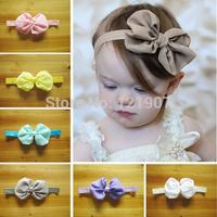 Free shipping 50pcs Kids Girl Baby Toddler Infant chiffon bow Headband