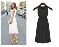 2014 VINTAGE!fashionable stunning lace dress!sexy girl dress/free shipping
