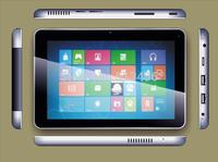 7inch Celeron N2806 CPU dual camera 5days standby time IPS display 1280*800 windows 7/8/8.1 os tablet PC