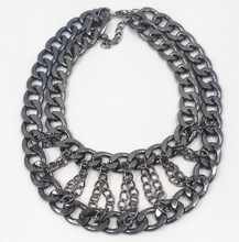 wholesale double chain necklace