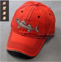 Waterfowl shark fin bone baseball cap topi mountaineering trip cap cotton snapback hat