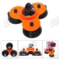 Five kinds of color-GOPRO hero 2 / 3 / 3 + low angle car accessories surfboard sucker GoPro HD Hero /SJ4000/SJ5000-Orange