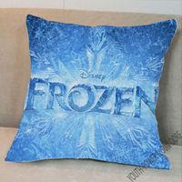 Frozen Movie Fun Cartoon Sofa Decor Pillow pillowcase Pattern + Pillow (Two Side) 40x40cm STUFFED CUSHION Bed Decor
