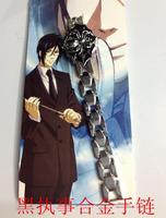 Japanese anime Black Butler  Kuroshitsuji Cosplay Bracelet  10 pcs/lot c1662