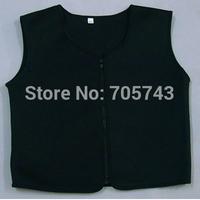 Free shipping men's neoprene slimming vest sporter and shaper vest sleeveless body shaper slimming vest as seen on TV
