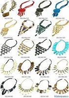 MW-07 Best Mix Wholesale Tibetan Ethnic Yak Bone Statement Necklace,Nepal India Handmade BOHO Jewerly,Free shipping