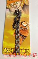 10pcs/lot Fashion Silver Jewelry Boys and girls China Dragon Ball bracelets Silver Chains  c1663