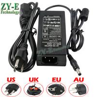 LED strip adapter power supply AC100-240V Output DC12V 6A 5A 3A 2A 1A 5.5x2.1mm LED transfomer for led ligting stirps EU plug