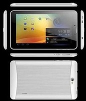Low Cost 7 inch MTK8312 3G Dual SIM Phone Call Androd Tablet PC with Metal Housing - J732