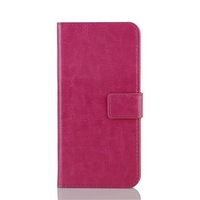 High quality crazy horse Pu leather wallet case cover for HTC ONE 2 M8