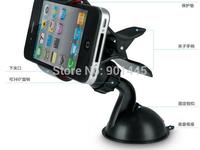 1pc Car mini mobile rack ,rotate 360 degrees clip,car GPS navigation support (2014070)