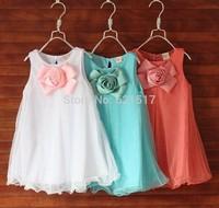 Girl  Rose Dress  Wholesale  Free Shipping