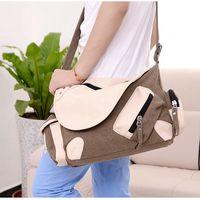 2014 High Quality New Men Messenger Bags Casual Multifunction Men Travel Bags Man outdoor Canvas Shoulder Handbags