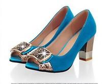 New 2014 Women Pumps Spring Summer Shoes Sexy Heels Sandals Open Toe Big Size Platform High Heel Sandalias Sapatos Femininos