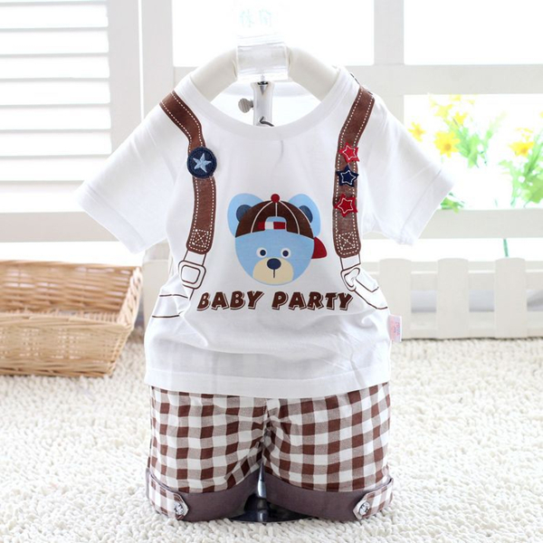 New 2014 summer boys carters clothing sets Bebe bodysuits,baby boys T-shirt +pants, for 0-2T baby wear(China (Mainland))