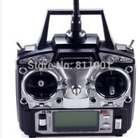 PROMOTION  FS FlySky FS-T6/FS T6 2.4G Digital Proportional 6 Channels Transmitter & Receiver w/ LED Screen Mode 2