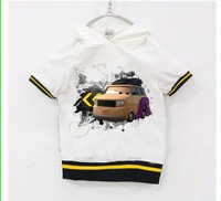 Free postage RU size Retail clothing Shij019 i love car Kids clothes Children's Clothing boys Sets spot