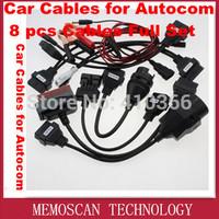 Car Cables for Autocom CDP Pro Car interface Cables  8 pcs Cables Full Set