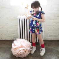 2014 brand girls apparel cute flower children's vest suit with shorts 3~7age child summer suits princess wear