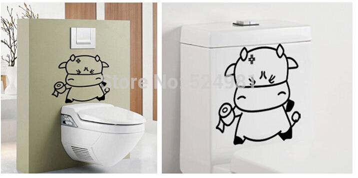 Bathroom Wallpaper Cartoon