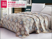 free shipping coral fleece fabric blanket 2014 high quality home blanket 58.82