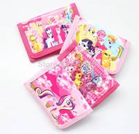 New 12pcs my little pony Cartoon  wallet  Purse Zero  Wallet  Free shipping