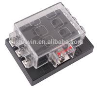 DC32V 6 Way Terminals Circuit Car Auto Blade Fuse Box Block Holder ATC ATO