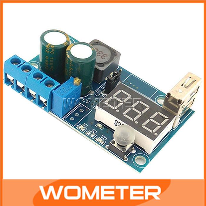 Инверторы и Преобразователи DC-DC Buck Converter 5pcs DC 4/38V 1,2 38V USB #200355 DC-DC LM2596 Buck Module LM2596 Buck Module